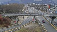 Seyssinet-Pariset: Grenoble-Autoroute A à Grenoble. Vue orientée sur l'entrée et sortie de Grenoble Sud - Current