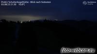 Kliening: Prebl - Schulterkogelhütte - Blick nach Südosten
