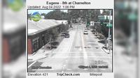 Eugene: th at Charnelton - Day time