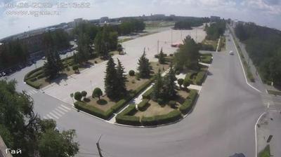 Daylight webcam view from Камейкинский сельсовет: Гай Оренбургская область, Россия: Площадь г. Гай
