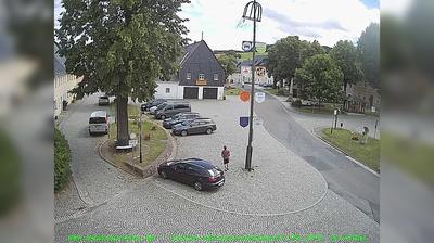 Vista actual o última desde Bärenstein: Markt − Osterzgebirge