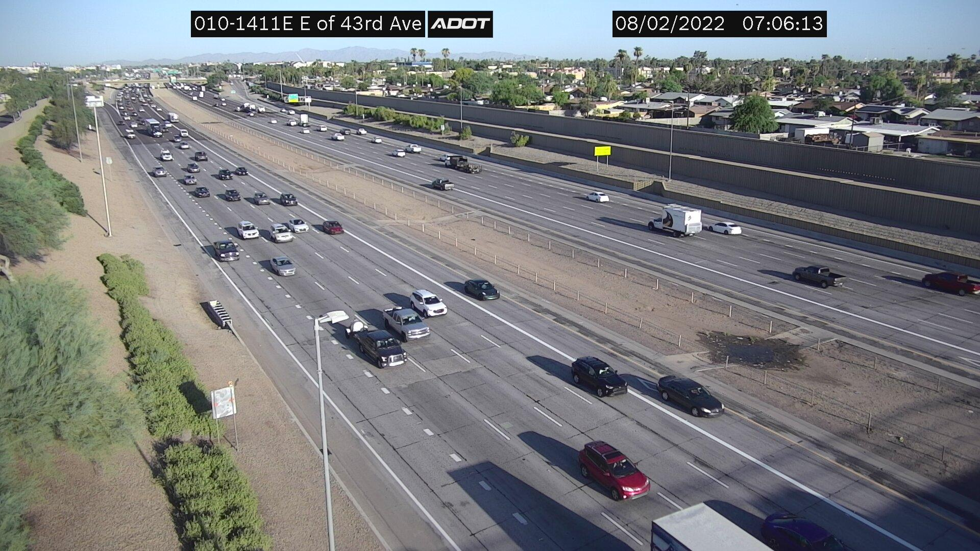 Webcam Catalina Village: I-10W and 43rd Ave