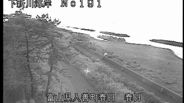 Webcam Nishi-kurobe: Toyama − Kurobe − Kasuga