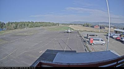 Webcam Hamar: Airport towards north