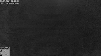 Grächen › Süd: Wettercam