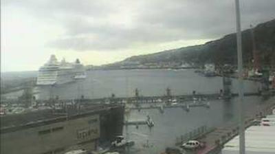 Webkamera Santa Cruz de La Palma: puerto de la Palma