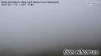 Vista actual o última Falkert: Heidi Alm Bergresort − Blick nach Westen zum Falkertspitz