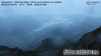 Huttendorf: Dobratsch - Villacher Alpe - Blick nach Westen ins Gailtal - Current