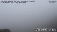 Huttendorf: Dobratsch - Villacher Alpe - Blick nach Westen ins Gailtal - Day time