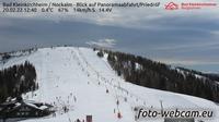 Bad Kleinkirchheim: Nockalm - Blick auf Panoramaabfahrt/Priedr�f - Overdag