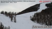 Current or last view Staudach: Bad Kleinkirchheim − Rosennockabfahrt − Blick zum Wiesernock