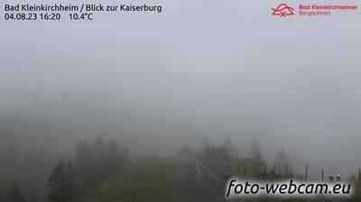 Vista actual o última desde Zirkitzen: Bad Kleinkirchheim − Blick zur Kaiserburg