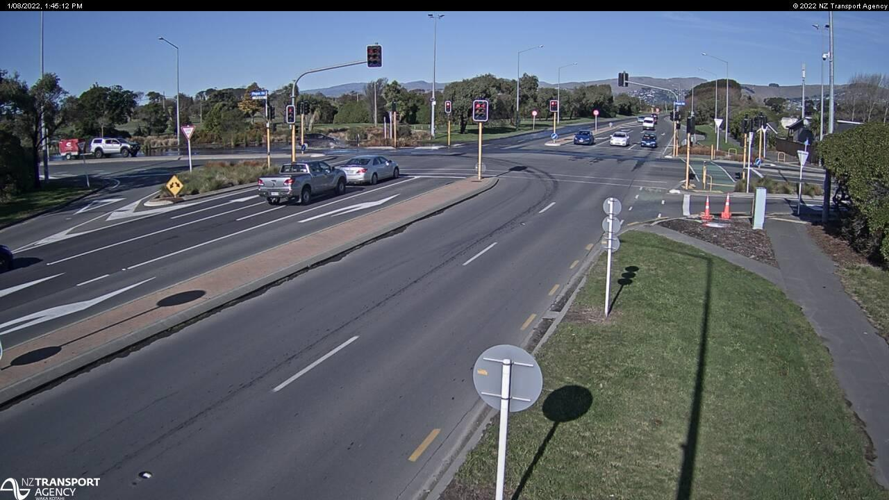 Webcam Aranui › South: SH74 Bexley, Christchurch