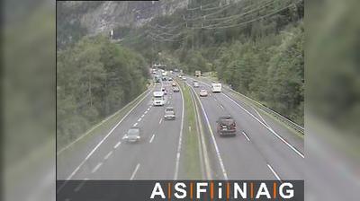 Vue webcam de jour à partir de Wimm: A10, bei Anschlussstelle Pass Lueg, Blickrichtung − Km 34,50