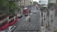 London: A Brixton Rd/Stockwell Rd - Dagtid