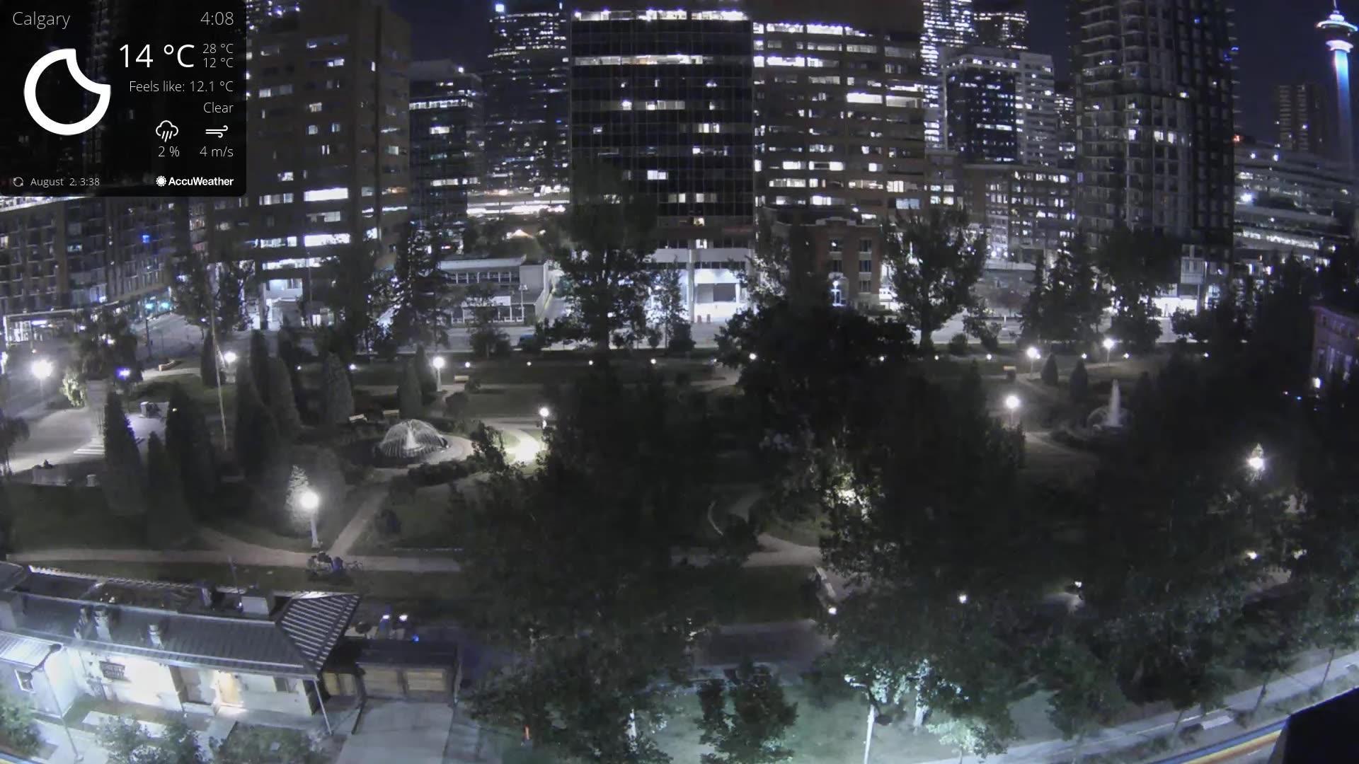 Webcam Calgary: Central Memorial Park