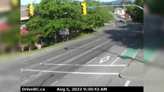 Webcam Lake Hill › North: Victoria, Hwy 17 northbound at