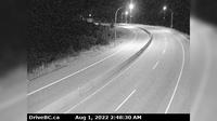 West Kelowna > East: , Hwy  at Hwy C junction, about  km south of Westbank, looking east - Actuelle