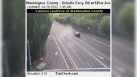 Beaverton: Washington County - Scholls Ferry Rd at st Ave - Current