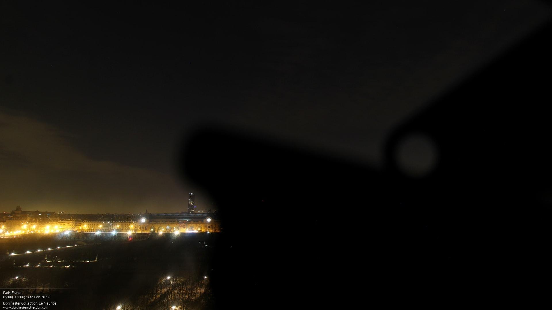 Webcam de Paris et de la Tour Eiffel météopassion