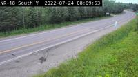 Unorganized West Timiskaming: Highway  at Highway - El día