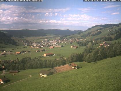 Rothenthurm: Skilift Neusell, Bergstation