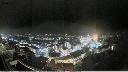Davos: ° Panorama mit Jakobshorn