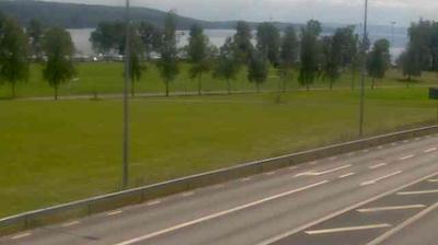 Daylight webcam view from Rottneros › South East: Sunne Riksväg 45 vid Kolsnäs