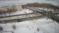 Chelyabinsk > South-East: Ulitsa Krasnoznamennaya - Prospekt Pobedy - Day time