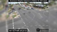 Bundaberg: Takalvan Street and Walker Street - Svensson Heights (looking south-east) - Dia