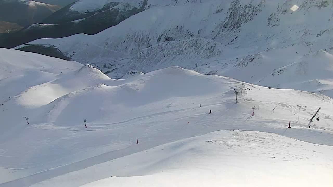 Webcam Gouaux-de-Larboust: Peyragudes-Peyresourde − Télés