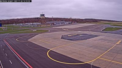 Daylight webcam view from Arnagerbro: Bornholm − Airport