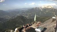 Berchtesgaden: Watzmannhaus - Blickrichtung Gr�nstein und - Overdag