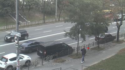 Webkamera Kiev: Street Nauki