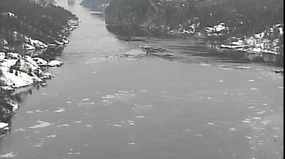 Webcam Svinesund: new bridge
