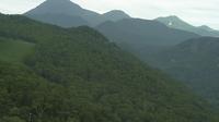 Last daylight view from Rausu: Shiretoko − Hill