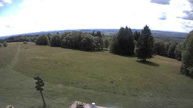 Webcam Hessisch Lichtenau: Blick vom Hohen Meissner Richt