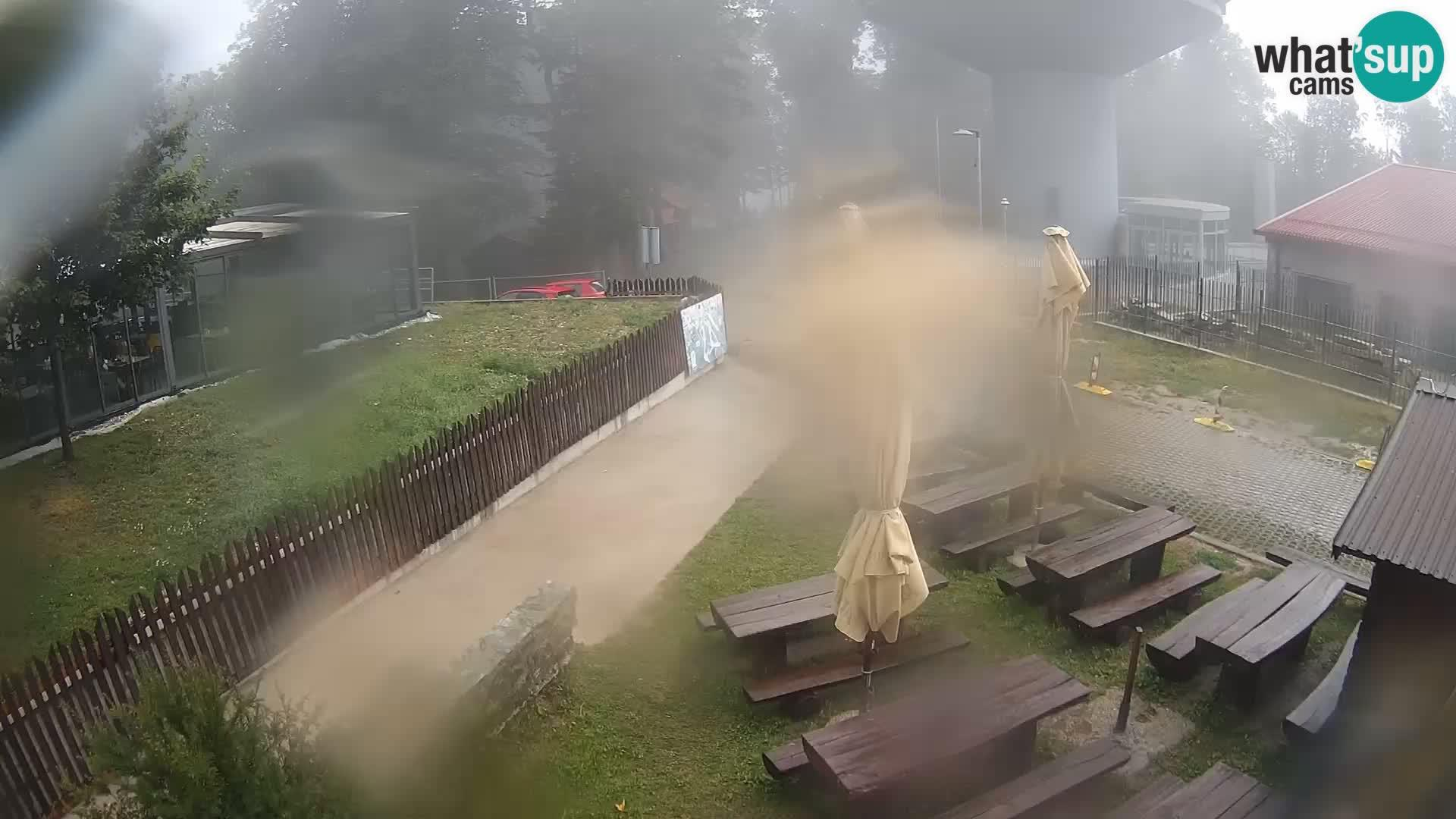 Webcam Zagreb- Podsused: Sljeme − Viewpoint