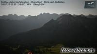 Mittelberg: Fellhornbahn Gipfelstation - Oberstdorf - Blick nach S�dosten - Recent
