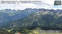 Mittelberg: Fellhornbahn Gipfelstation - Oberstdorf - Blick nach S�dosten - Overdag