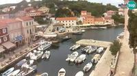 Last daylight view from Veli Losinj: marine