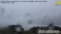 St Johann im Pongau: Buchau-Hütte am Gernkogel - St. Johann im Pongau - Blick nach Norden - Day time