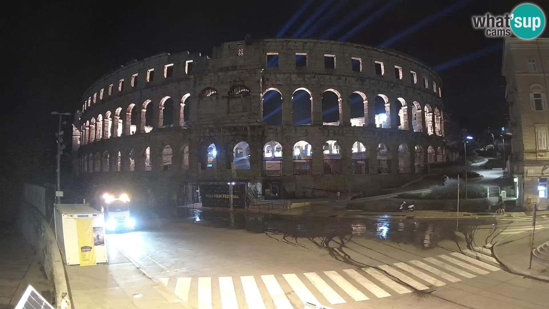 Webcam Pula: Amphitheater
