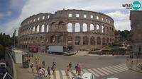 Pula: Amphitheater - Overdag