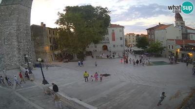 Zadar: Petar Zoranic square