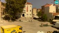 Current or last view Zadar: Petar Zoranic square
