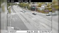 Sammamish: SR  at MP : th Ave NE - Overdag