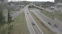 Tveta: Tpl Saltskog västra (Kameran är placerad på E Strängnäsvägen i höjd med trafikplats Saltskog (där E passerar på bro ovanför) och är riktad mot Strängnäs - Dia