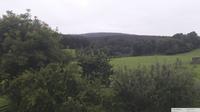 Ultima vista de la luz del día desde Unterberg