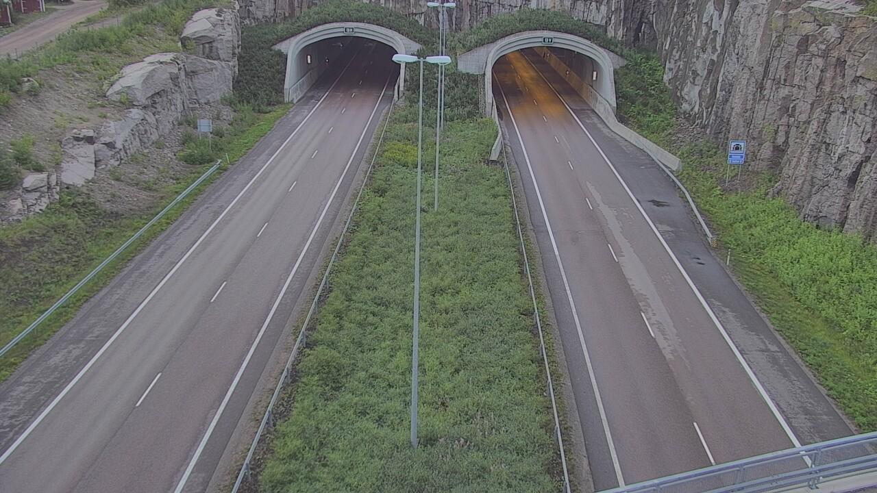Webkamera Hamina: Tie 7 Kolsila puomi länsi − Tie 7, Kolsila